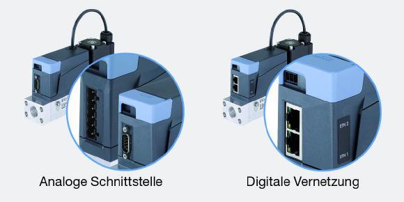 Maßgeschneiderte Automatisierungskonzepte für die Gasregelung: Immer die optimale Kommunikationslösung. (Quelle: Bürkert)