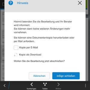 Die neue inSign-Version von iS2: noch schneller zur Unterschrift