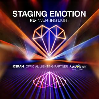 Osram is the official lighting partner for the Eurovision Song Contest for the third time in a row