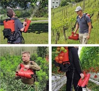 Für Anwendungen im Obst- und Weinbau, in Gärtnereien, Parkanlagen, Baumschulen Gewächshäusern