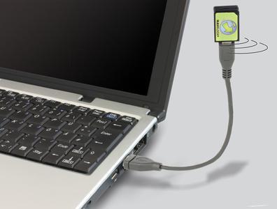 Micro USB B Buchse zu USB-A Stecker Kabel