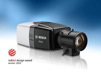 Dinion HD 1080p Kamera von Bosch mit renommiertem Red Dot Award ausgezeichnet