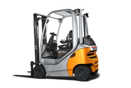STILL präsentiert erstmals Treibgas-/Dieselstapler RX 70 mit Energiesparprogramm Blue-Q