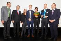 Training at Webasto Receives the Business Award from the District of Starnberg