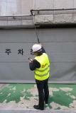Mess- und Prüftechnik von Esders im in Südkorea: Zugriff und Überprüfung außenliegender Gasleitungen mit dem Mehrbereichsmessgerät OLLI