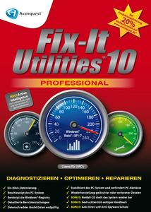 Nominiert für die Software des Jahres: Fix-It Utilities10 Professional