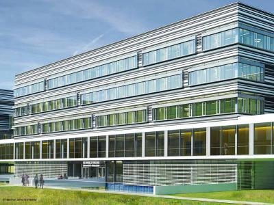 Neues Gebäude an der HHU  © Hascher Jehle Architektur