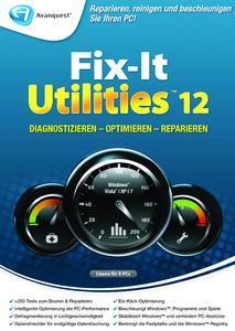 Perfekt für Systemwartung und Optimierung: Fix-It Utilities 12