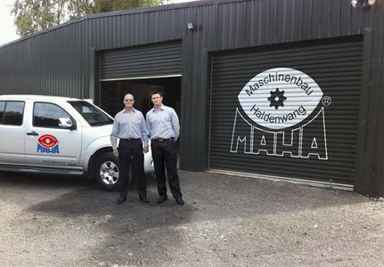 Firmengebäude MAHA Neuseeland