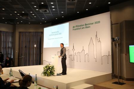 Air Filtration Seminar mit Dr. Maximilian Weiß, CEO der Palas GmbH