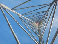Frei stehender Gittermast Ge:Net GmbH