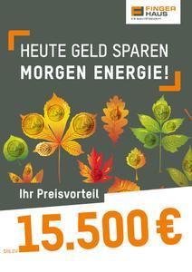 Heute Geld sparen, morgen Energie!