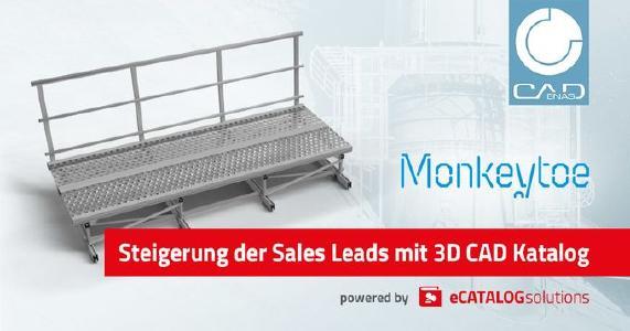 Monkeytoe stellt Weichen für branchenübergreifende und internationale BIM & CAD Lösung