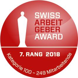 Swiss Arbeitgeber Award 2018
