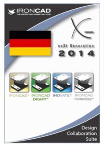 IronCAD Design Collaboration Suite in der deutschen Version 2014
