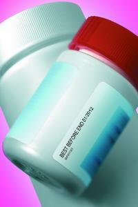 Der Linx TT-FlexClean ist auch für die direkte Beschriftung von Etiketten geeignet