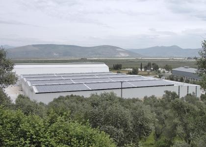 499 kWp rooftop PV system in Muglan, Turkey