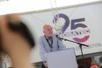 IHK Präsident Helmut Streiff bei seiner Eröffnungsrede