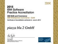 WebSphere Commerce - Gold Accreditation