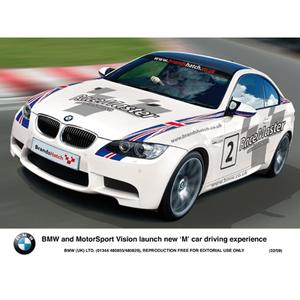 BMW and MotorSport Vision launch new 'M' car driving experience (02/2009)