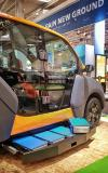 BMZ presents charging and battery exchange station for the City E-Taxi