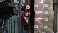 Automatischer I-Punkt mit Paletten-Etikettierung
