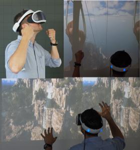 Die Teilnehmenden des Ferienkurses an der Hochschule Kaiserslautern können beispielsweise einen virtuellen Fallschirmsprung kreieren und durchführen