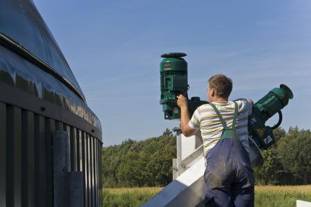 Montage Biogasanlage II