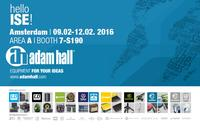 Adam Hall Group at ISE Amsterdam, Booth 7-S190
