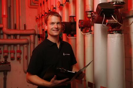 Manfred Welsch, Inhaber der Heizungsbau-Firma Manfred Welsch GmbH in Stockach