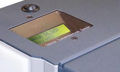 Akkuanzeige des Mobilwagen 1100