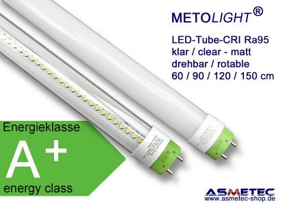 METOLIGHT LED Röhren Serie CRI95