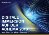 [PDF]: Kommunikation der Digitalisierung auf der ACHEMA 2018