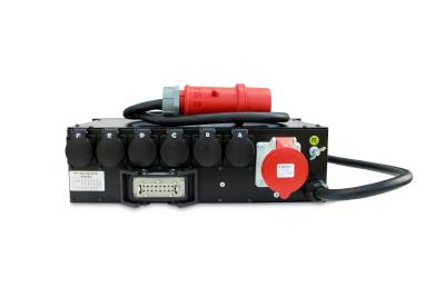 Voice-Acoustic PD-32-6 V2, professional power distributor with new possibilities