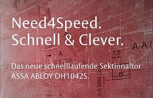 Need4Speed ASSA ABLOY OH1042S