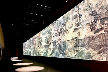 RÖDER Museums-Pavillon Verbotene Stadt, Innenansicht