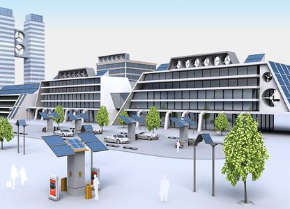 Kompakte, dezentrale Anlagen im urbanen Umfeld sind eine interessante Möglichkeit für die Energieerzeugung in der Zukunft. Weidmüller offeriert dafür ein umfangreiches und innovatives Produktprogramm