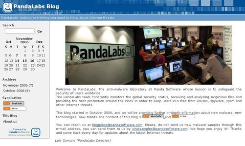PandaLabs Blog