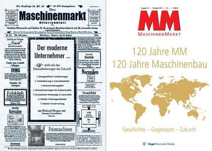 """Titel Jubiläumsausgabe """"MM MaschinenMarkt"""""""