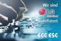 ECC ESC International GmbH nun lizensiertes LG-Servicecenter