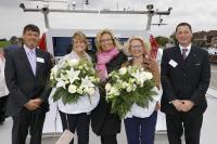Imperial Christens Two Gas Tankers