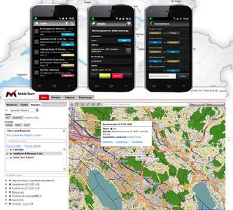 Interactive task management for smartphones & tablets