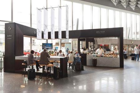 IPTV am Frankfurter Flughafen bereitgestellt von der Fraport AG für die Gastronomie (Foto: Fraport AG)