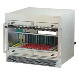 Schroff Standard MicroTCA.4 System, 9 HE, 12 Slots