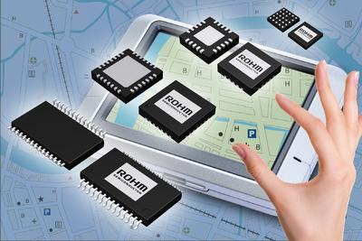 ROHM's New4-wire Resistive Touch Panel Controller ICs Enhance Touch Sense Operability