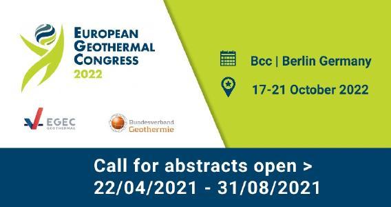 Europäischer Geothermiekongress 2022: Call for Abstracts eröffnet