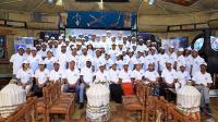 Gruppenbild mit Mitarbeitern der LICON und der MC-Bauchemie beim Kick-off am 20. Februar 2019 in Addis Abeba, Äthiopien.