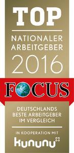 """HARTING erneut als """"TOP NATIONALER ARBEITGEBER"""" ausgezeichnet"""