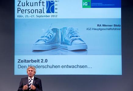 iGZ-Hauptgeschäftsführer Werner Stolz: Zeitarbeit ist den Kinderschuhen entwachsen