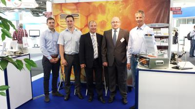 ViscoTec with the brand preeflow at SINDEX Exhibition in Bern